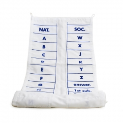 Signal Code Flag Wallet - Plain text