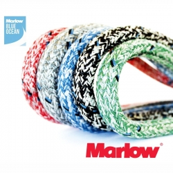 Marlow 8mm Blue Ocean Doublebraid - Sheets, Halyards, Control Lines