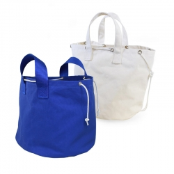 Jimmy Green Storage and Portage Bag - blue and natural