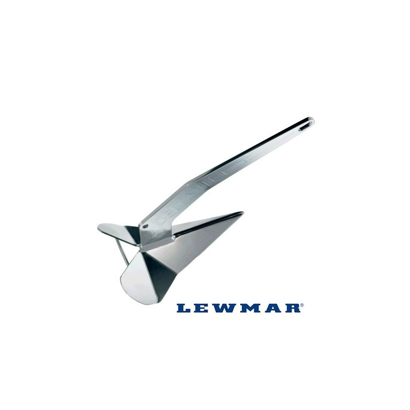 Lewmar Delta Anchor, stainless steel