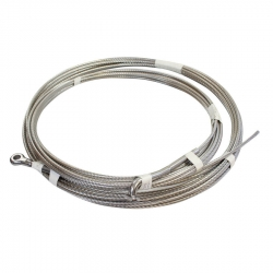 Clearance Swaged Compact Strand Stainless Steel Wire