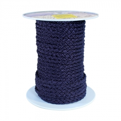 Clearance LIROS Octoplait Nylon Navy - 60m x 12mm