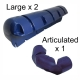 Plastimo Dock Fender Set Blue
