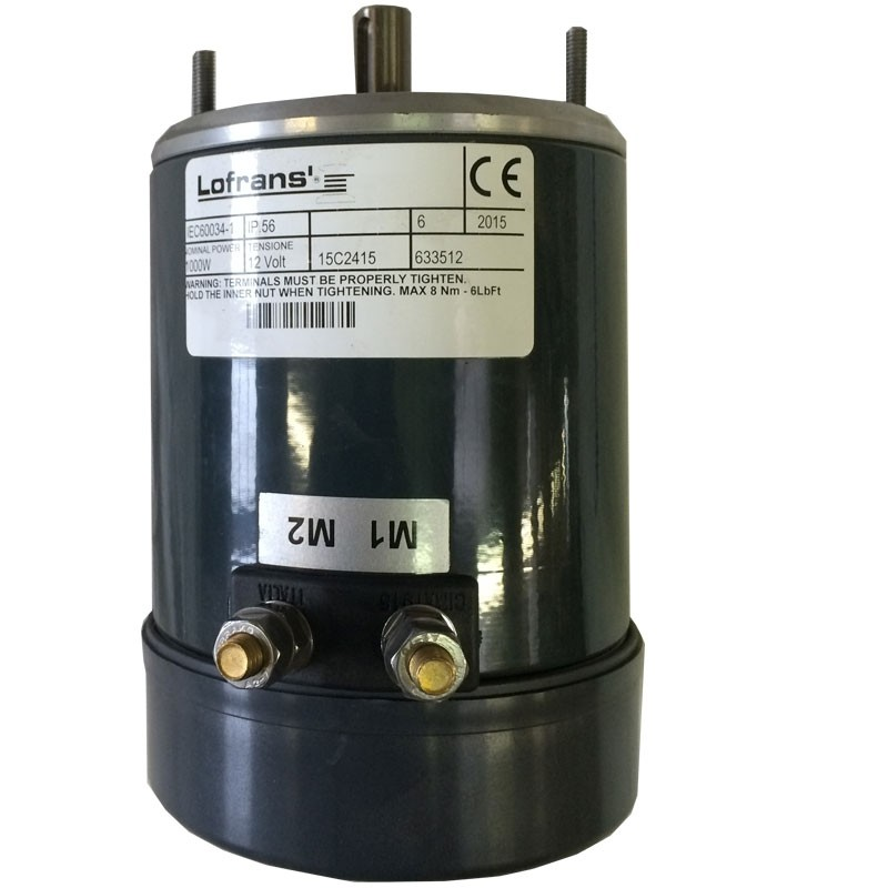Lofrans Replacement 12V / 1000W Motor - Project 1000 930A