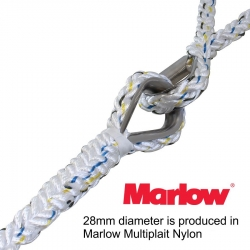 Marlow 28mm Multiplait Y Bridle Single Part