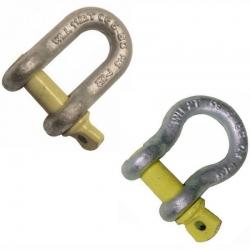 Yellow Pin Shackles