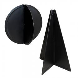 Black Ball and Cone