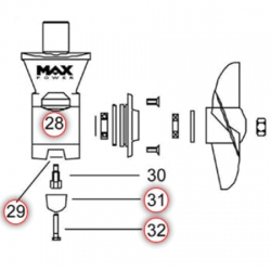 Max Power Bow Thruster Replacement Parts