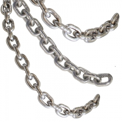 Clearance William Hackett Stainless Steel Calibrated Anchor Chain - Short Ends