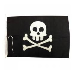 Jolly Roger Pirate Flag - Skull & Crossbones
