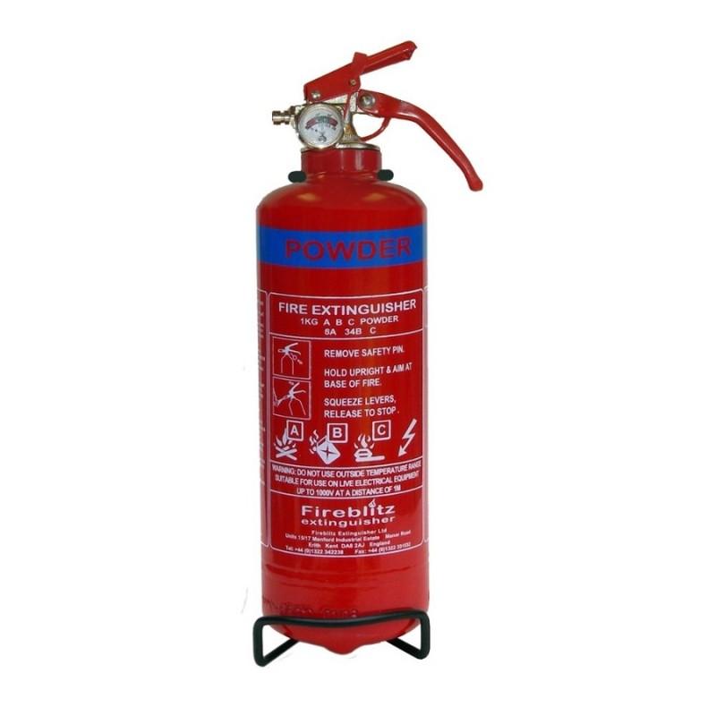 Dry Powder ABC Manual Fire Extinguisher 1kg