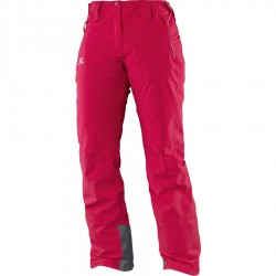 Salomon Women's IceGlory Pant Lotus Pink