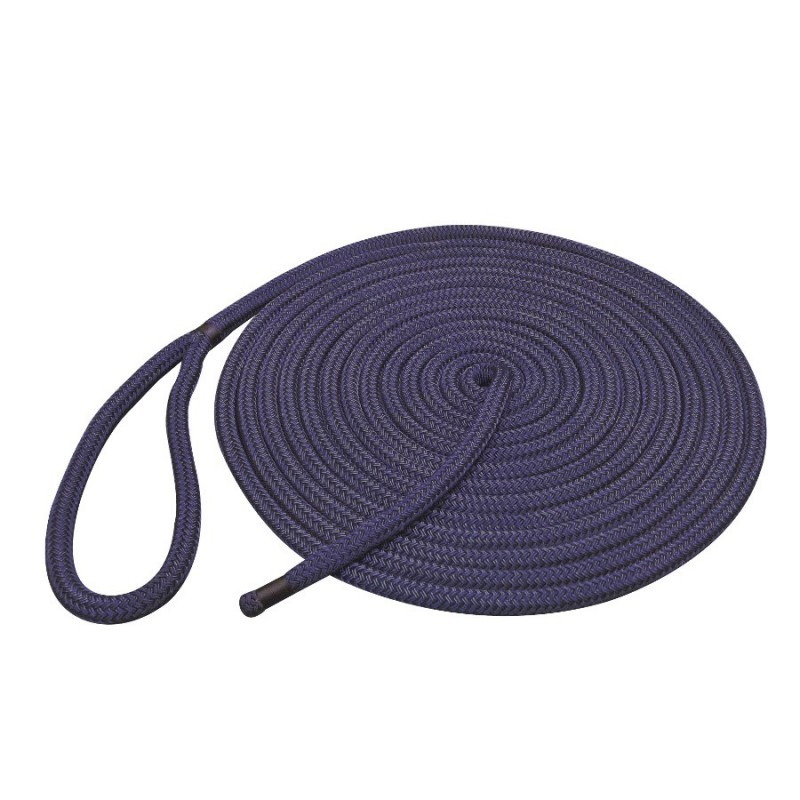Ready Spliced 12mm LIROS Braided Dockline Polyester Mooring Warps