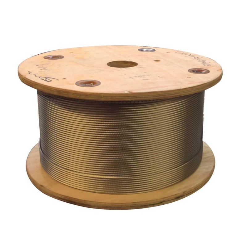 100 Metre Reel Deal - 1x19 Stainless Steel Wire Rope