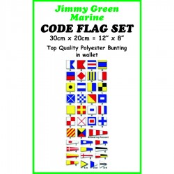 Signal Code Flag Set in polyester bunting