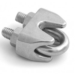 Petersen Stainless Steel Wire Rope Clips
