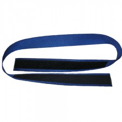 Jimmy Green velcro on webbing sail tie blue