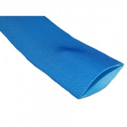 Anti-Chafe Tubular Polyester Webbing 60mm blue