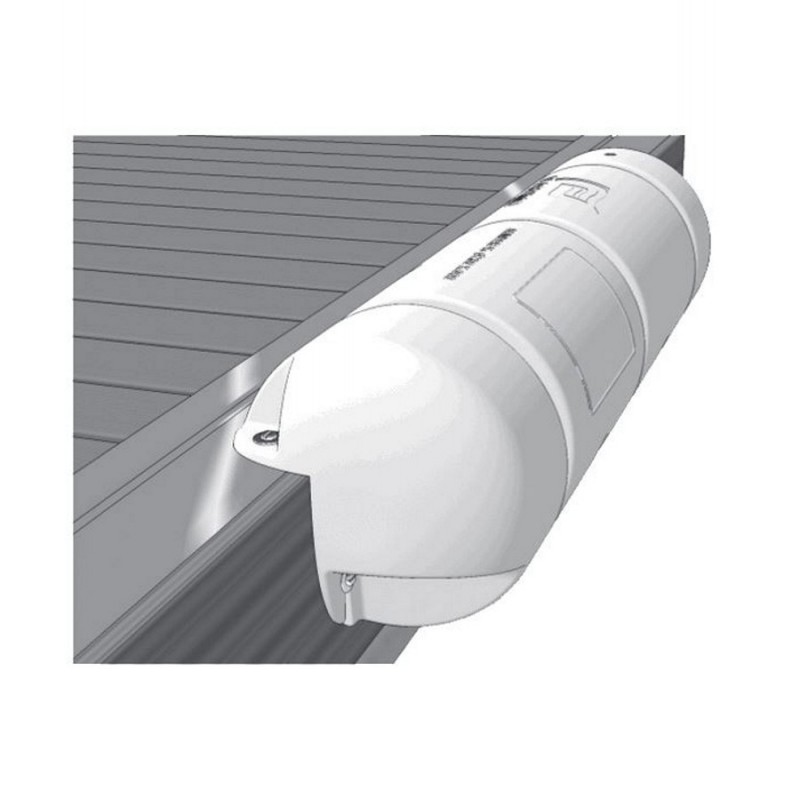 Plastimo 3/4 Round Dock Fender Large White