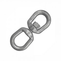 Certified Green Pin Galvanised Mooring Swivel