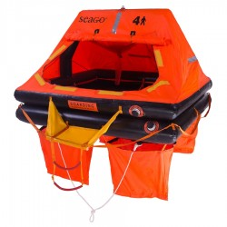Seago Sea Master ISO 9650-1 Pack 2 Liferaft