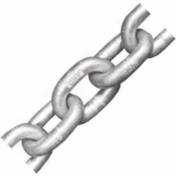 8mm DIN766 Titan Grade 40 Calibrated Anchor Chain