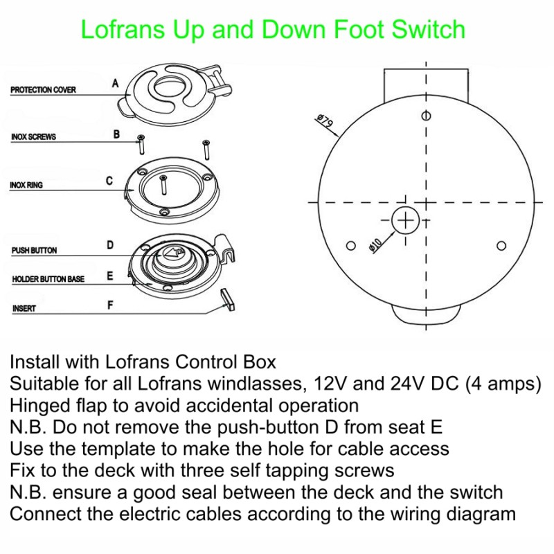 Lofran An B Wiring Diagram