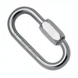 Maillon Rapide, stainless steel rated link