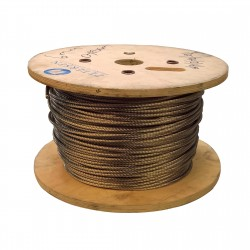 100 metre Reel - Compact Strand Stainless Steel Wire