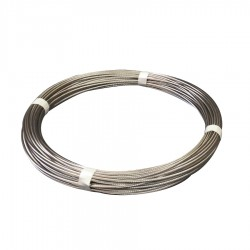 50 Metre Coil Deal - Compact strand stainless steel