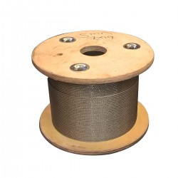 100 Metre Reel Deal - 7x19 Stainless Steel Wire Rope