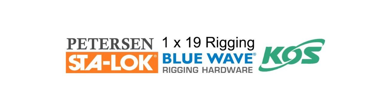 1x19 Dinghy Rigging