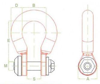 Omega Force 7 Link Dimensions