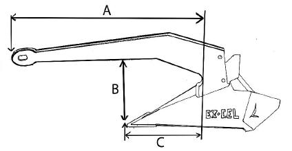 Sarca Excel Dimensions Diagram