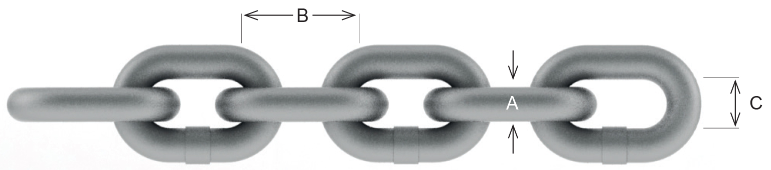 William Hackett Chain Dimensions