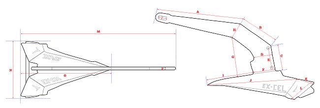 Link to Sarca Excel Anchor Detailed Diagrams
