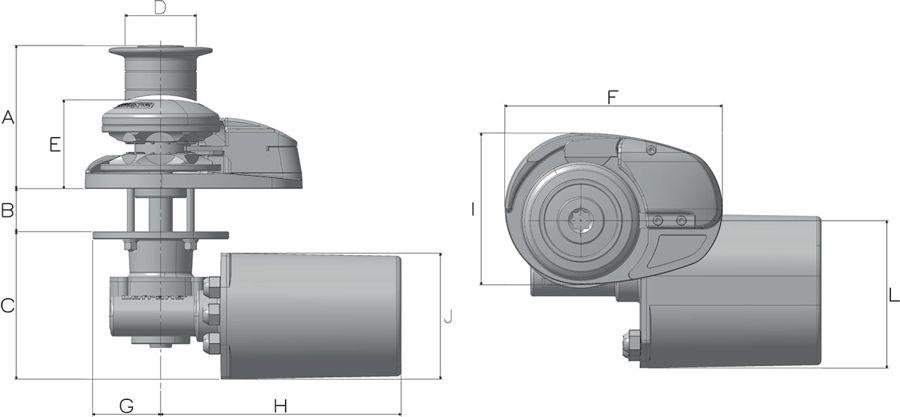 Lofrans X2 Dimensions