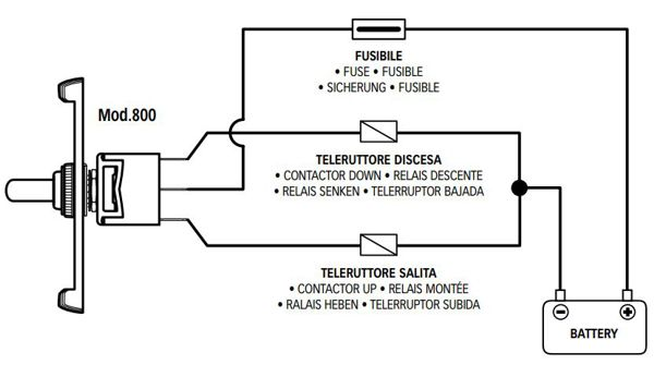 Quick Up/Down Switch Wiring Diagram