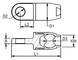 Bluewave Dyneema Rope Terminal Diagram 1