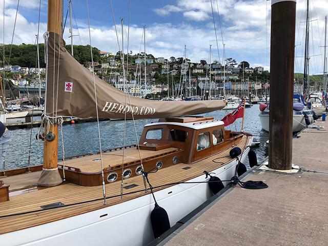 Heron II Sailing Yacht