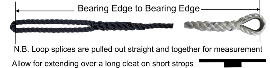 Mooring Warp Splicing Bearing Edge information