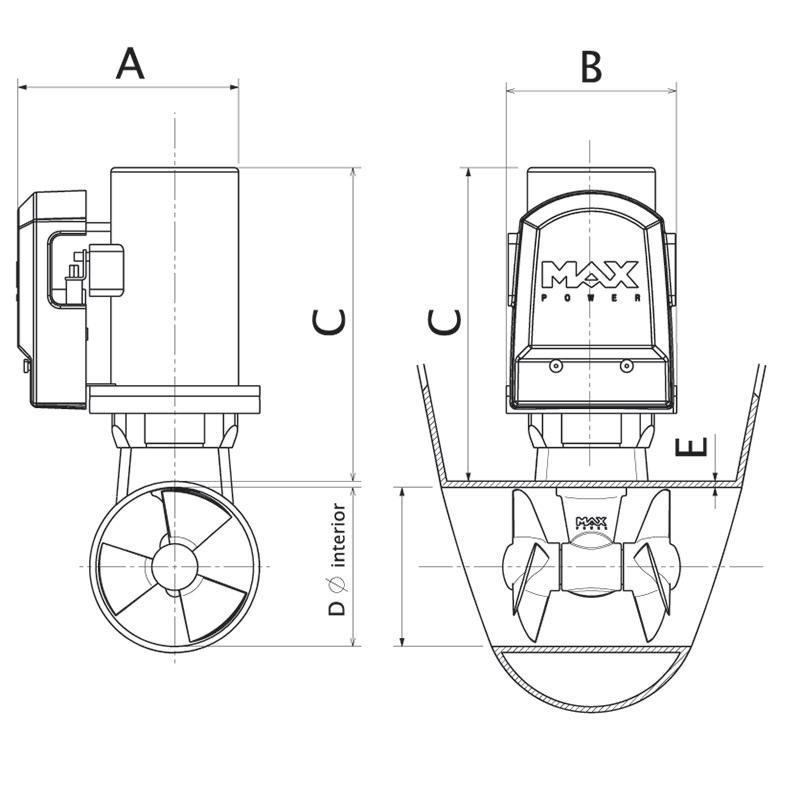 Max-Power-CT60-Drawing