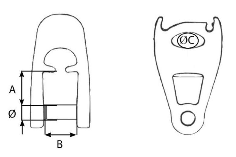 Wichard MXEvo Allen Head Pin Diagram