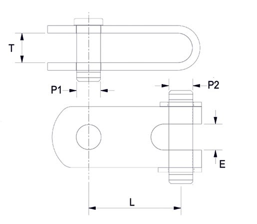 Petersen double jaw toggle diagram