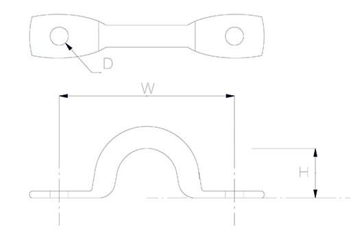 Petersen lacing eye dimensions diagram
