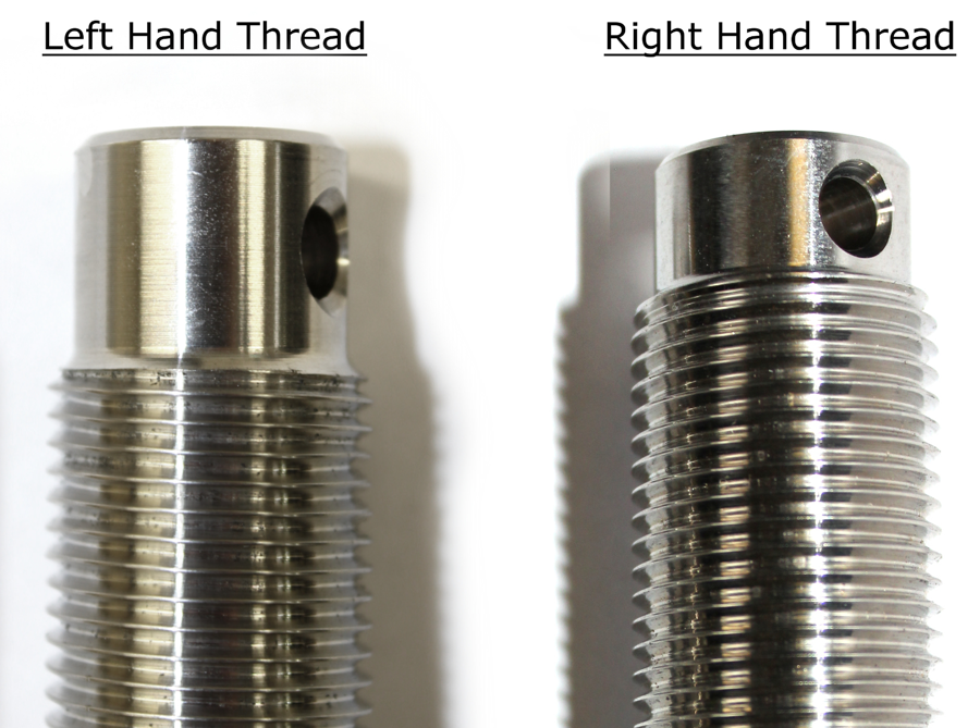 Sta-Lok LH and RH thread recognition