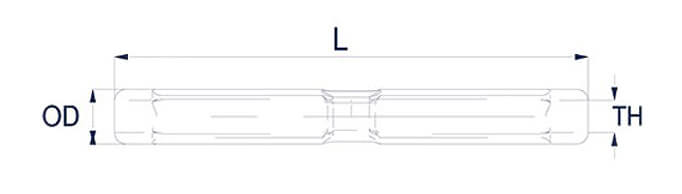 Petersen GT Turnbuckle Body Diagram