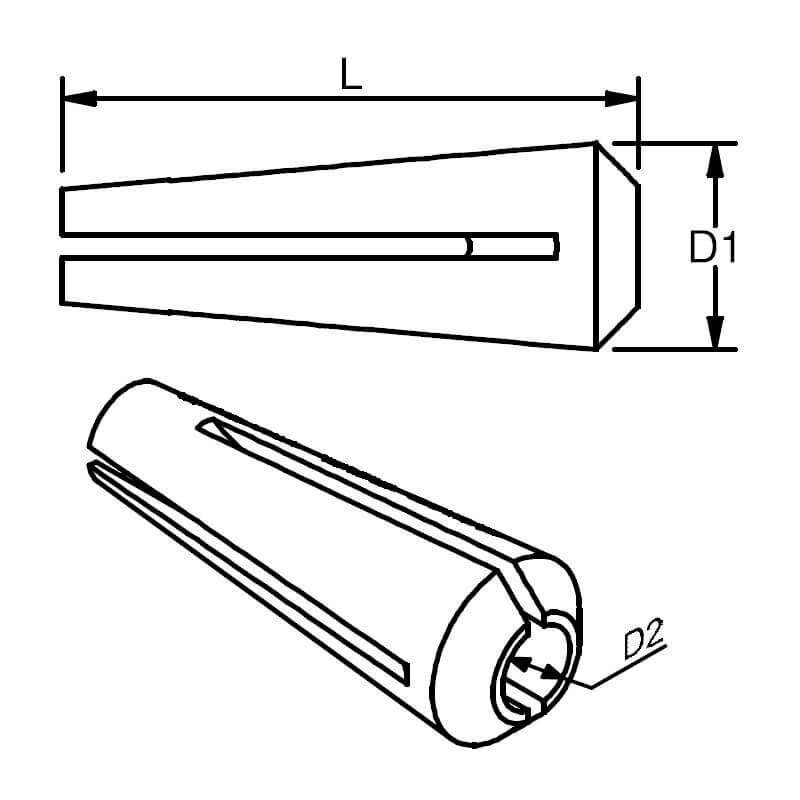 Spare Cone diagram