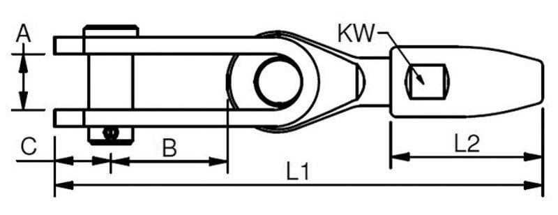 Bluewave Swageless Cone Toggle Diagram