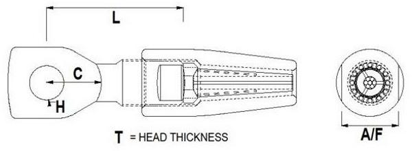 Hi-Mod Compression Eye Diagram